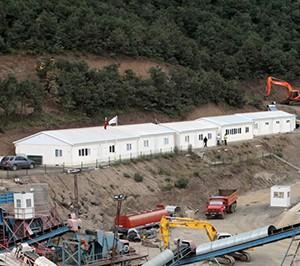 Maden Projeleri için Kamplar